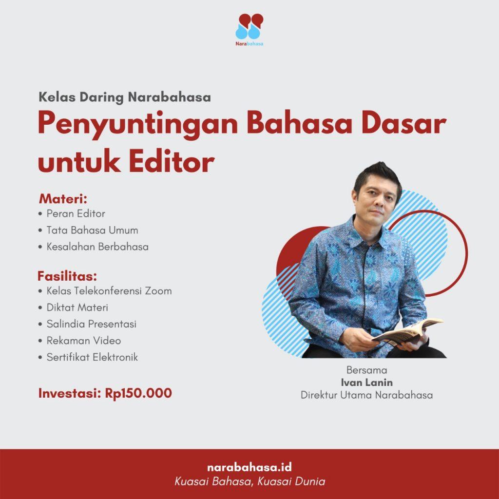 Penyuntingan Bahasa untuk Editor